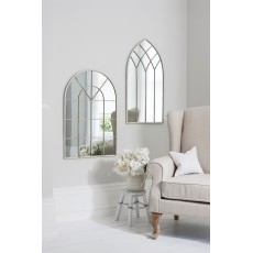 Gallery Kelford Arched Cream Mirror