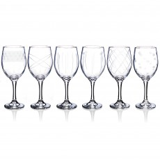 Newgrange Living Isabella Set of 6 Wine Goblets