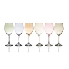 Newgrange Living Lustre Party Mix Set of 6 Wine Glasses
