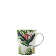 Maxwell & Williams Cashmere Birds of Paradise White 330ml Mug