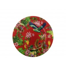 Maxwell & Williams Cashmere Birds of Paradise Red 19cm Plate