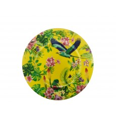 Maxwell & Williams Cashmere Birds of Paradise Yellow 19cm Plate
