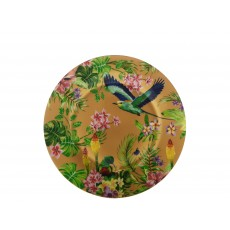 Maxwell & Williams Cashmere Birds of Paradise Gold 19cm Plate