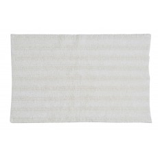 Kingsley Lifestyle White Bath Mat