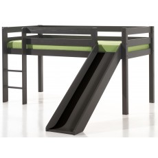 Vipack Pino Mid Sleeper Bed With Slide Taupe