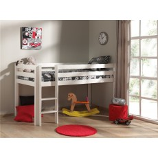 Vipack Pino Mid Sleeper Bed White