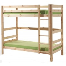 Vipack Pino Extra Tall Bunk Bed Natural