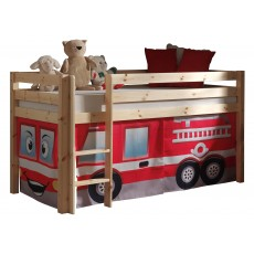 Vipack Pino Bed Curtain Fire Rescue Engine