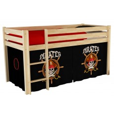 Vipack Pino Bed Curtain Pirates