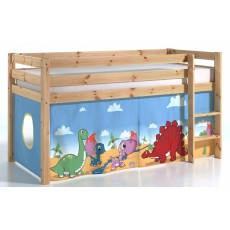 Vipack Pino Bed Curtain Dinosaurs
