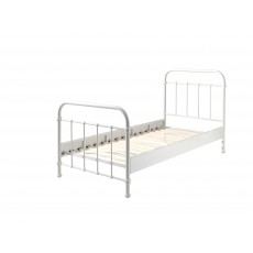 Vipack New York Single (90cm) Bedstead White