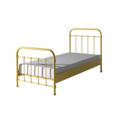 Vipack New York Single (90cm) Bedstead Yellow