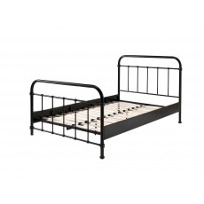 Vipack New York Small Double (120cm) Bedstead Black