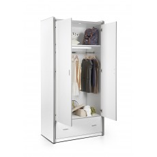Vipack Bonny 2 Door Wardrobe White