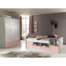 Vipack Bonny 3 Door Wardrobe White