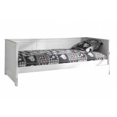 Vipack Pino Captain Single (90cm) Bed White