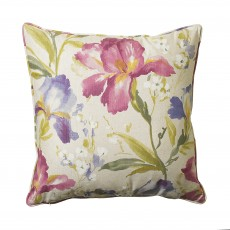 Scatter Box Iris Floral Pink Cushion