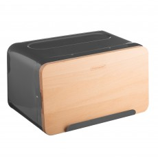 Typhoon Hudson Grey Bread Bin
