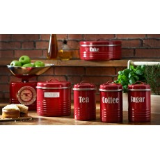 Typhoon Vintage Kitchen Red Cake Tin