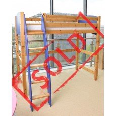 Cresta 3' Blue & Honey Starter Bed & Highsleeper Kit (Unassembled)