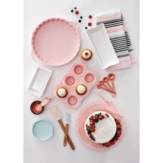 Ladelle Bake The World Mini Pink Tart Dish Set
