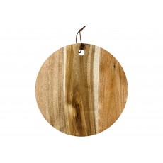 Ladelle Metta Acacia Wooden 30cm Round Serving Board