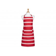 Ladelle Red Butcher Stripe Apron