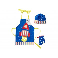 Ladelle Rocket Ship Kids Chef Set