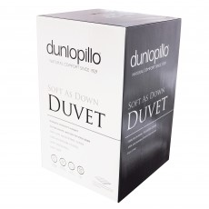 "Dunlopillo ""Soft As Down"" Double Duvet 10.5 Tog"