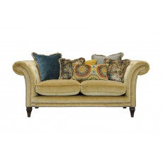 Alexander & James Eden 2 Seater Scatter Back Sofa Venetian Ochre Fabric C