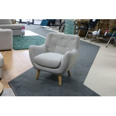 Andrea Buttoned Armchair