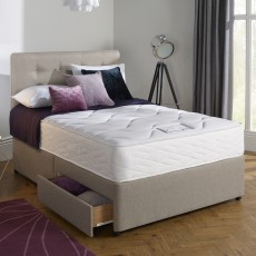 Myers Dreamworld Kelmscott Comfort 1000 Double (135cm) Mattress & 2 Drawer Divan Set