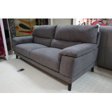 Benevento 3 Seater Sofa Fabric Lex 12 Koala