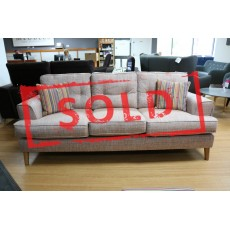 Shelly 4+ Seater Sofa Fabric Incl 4 Scatter Cushions