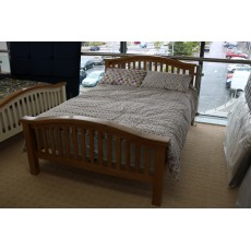 "Kalico Ontario Oak Curved King Bedstead (5'0"")"