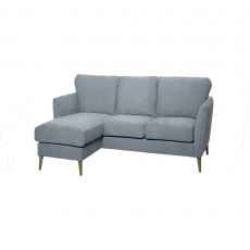 Scully 3 Seater Sofa With Chaise LHF Fabric C