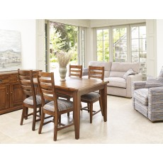 Wordsworth 6-8 Person Extending Dining Table + 4 Chairs