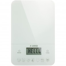 Judge Kitchen & Diet Scale