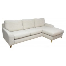 Clarina 3 Seater Sofa With Chaise RHF Fabric B Citipati 4 Sand