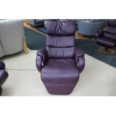 Eden Wide Electric Recliner LEather Category 24