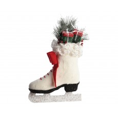 Christmas Ice Skate with Glitter 10cm x 25cm x 40cm