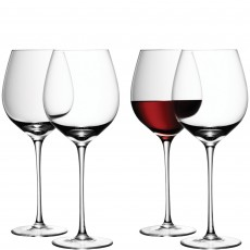 LSA 4 Piece Red Wine Glass Pack