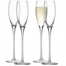 LSA 4 Champagne Flutes Pack