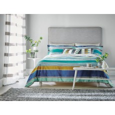 Harlequin Kaledio Double Duvet Cover Marine