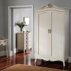 Ophelia Painted Triple Wardrobe