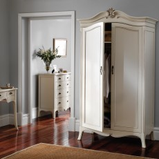 Ophelia Painted Double Wardrobe