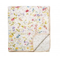 V & A Botanica Bedspread Throw Multi Coloured