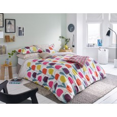 Scion Living Fritilla Knitted Throw Multi Coloured
