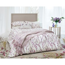 Harlequin Salice Single Duvet Cover Plum