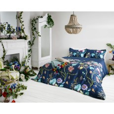 Harlequin Quintessence Double Duvet Cover Navy